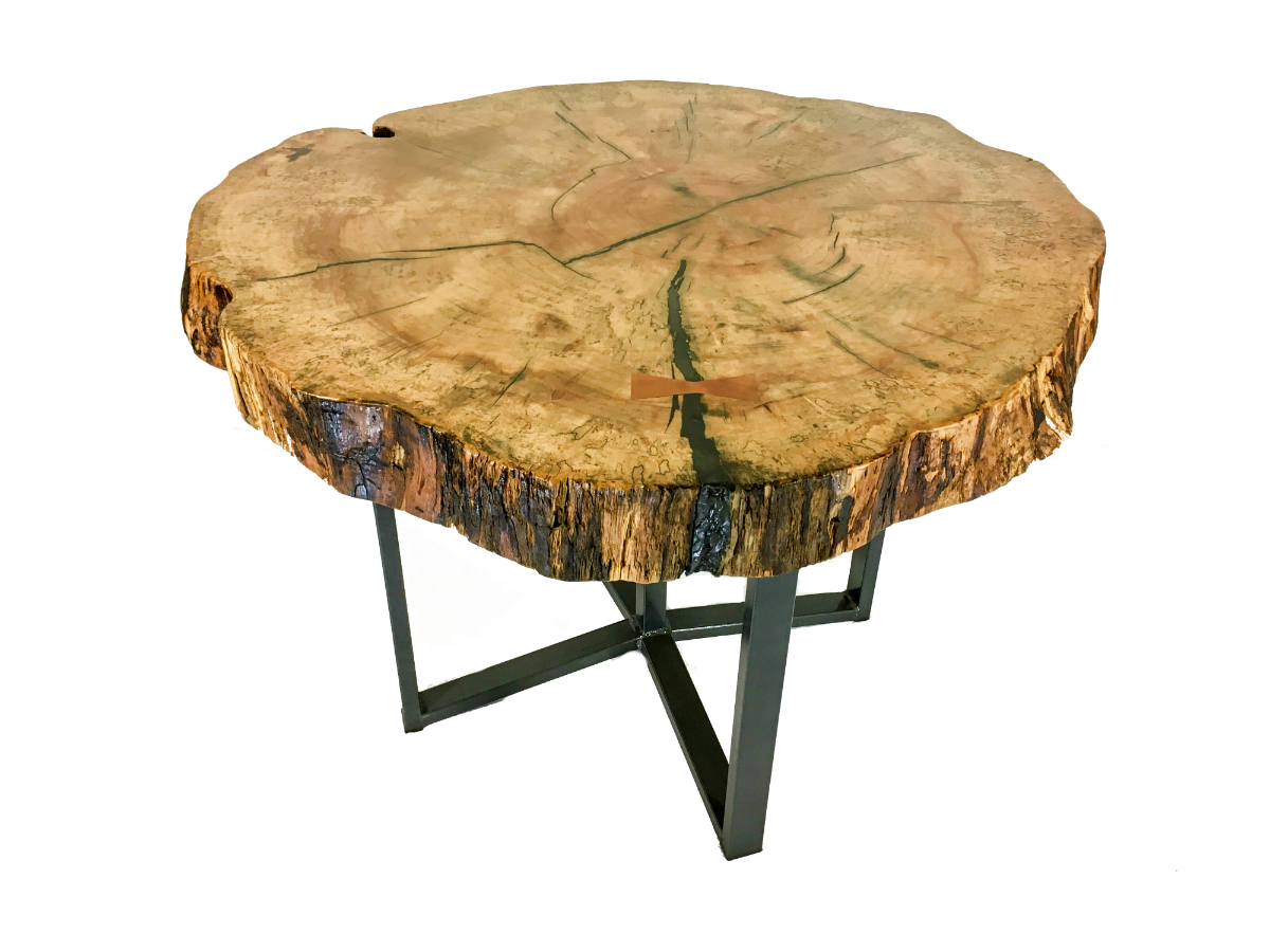 Live-Edge Maple Dining Table