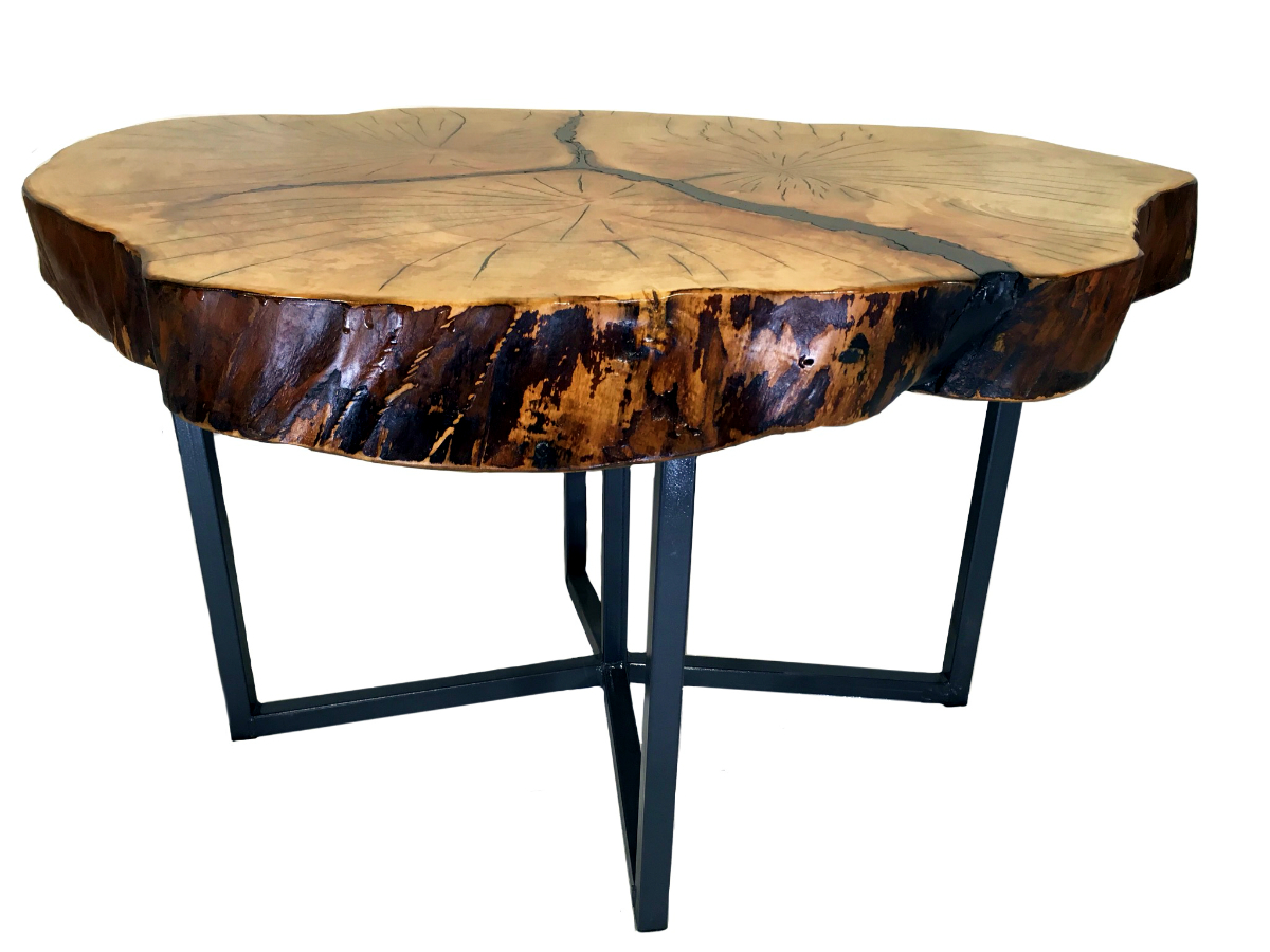 3 tree maple end table