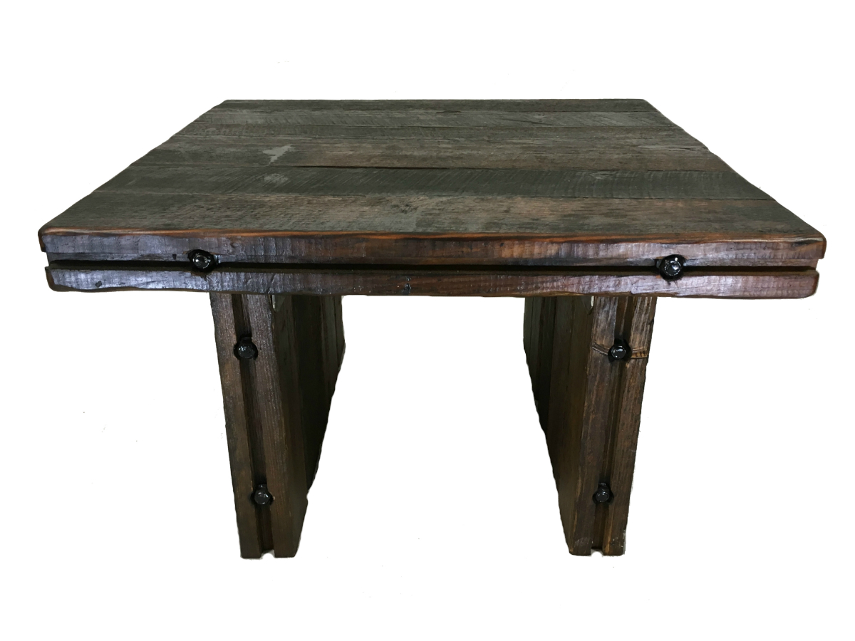 Heart Pine Reclaimed Coffee Table