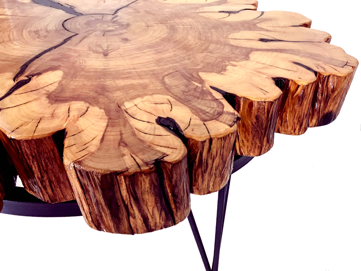 Reclaimed Cypress Coffee Table Kyoutbackwoodworkingcom - Cypress stump coffee table