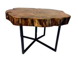 Solid Reclaimed Maple End Table