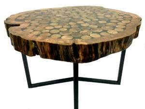 Stunning Maple End Cut Table