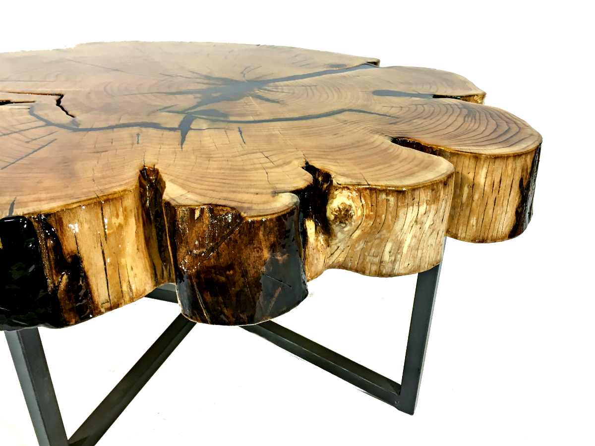 Solid Reclaimed Cypress Wood Table Kyoutbackwoodworking