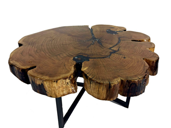 Sparkling Solid Wood Coffee Table