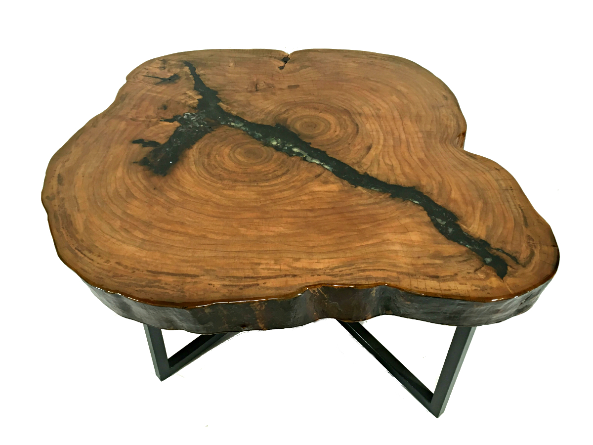 Solid Wood Sycamore Coffee Table